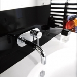 Bela Wall-Mounted Single Control Faucet
