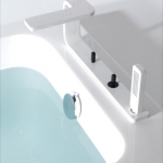 Lounge Roman Tub Diverter And Handshower