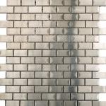 Mosaico Brick Acero
