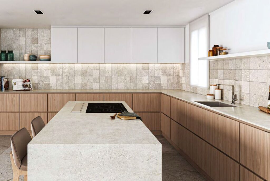 luxury kitchen tiles